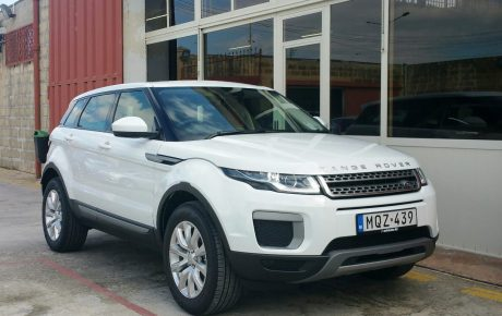 Range Rover Evoque new member of our leasing fleet