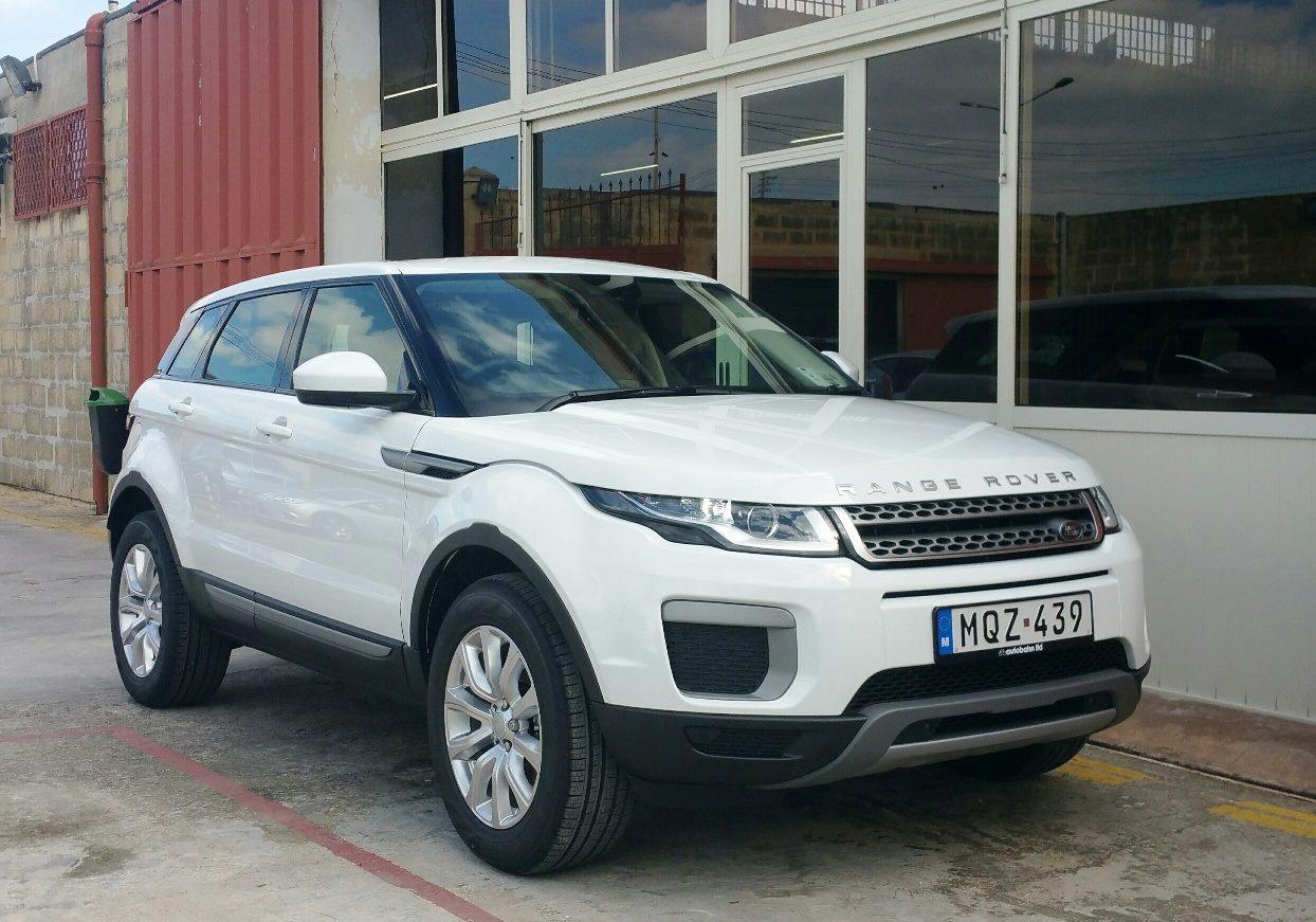 Range Rover Evoque new member of our leasing fleet