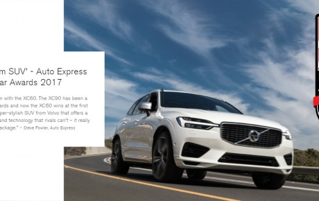 Super-Stylish new Volvo XC60 just joined our leasing fleet.